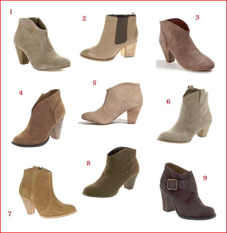 Affordable ankle boots a la Rachel Comey, Isabel Marant, and Rag ...