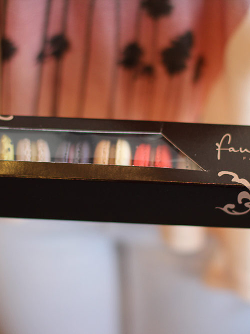 Macarons at Faubourg, Kerrisdale Vancouver