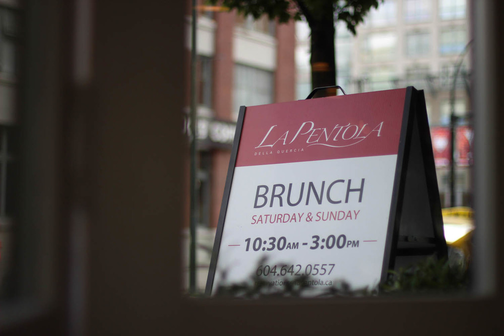 BRUNCH AT LA PENTOLA IN OPUS HOTEL