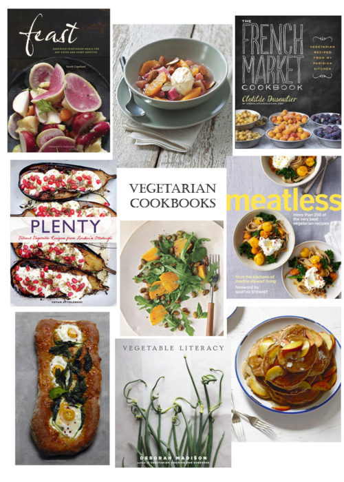 TOP 5 | VEGETARIAN COOKBOOKS