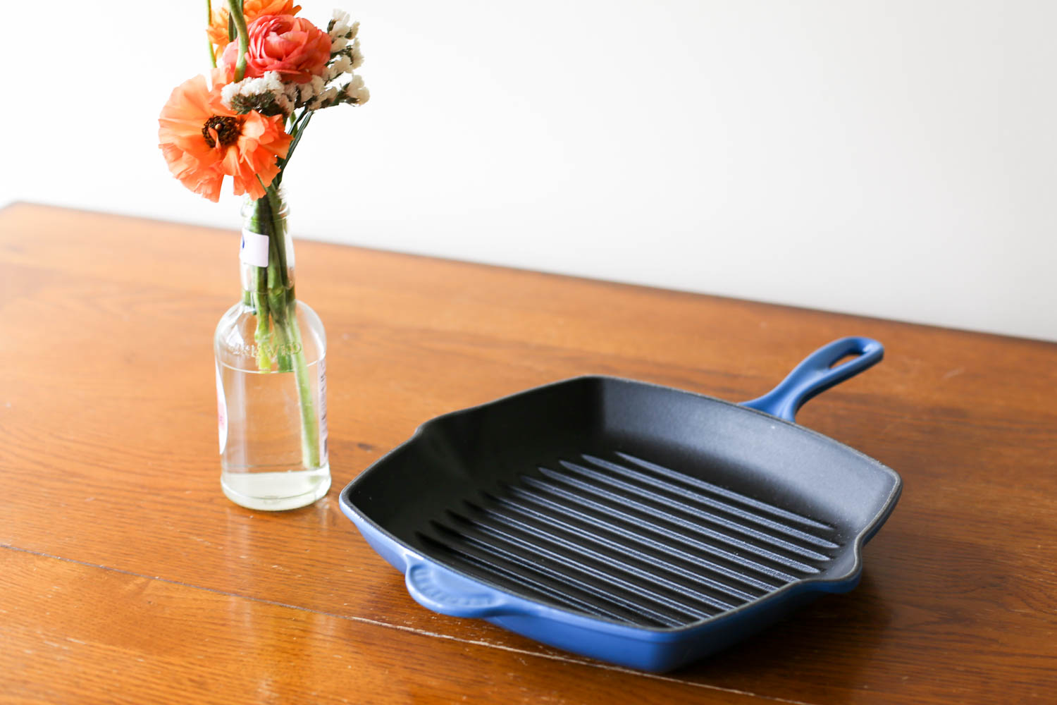 Le Creuset 26cm Square Skillet Grill, available at Nordstrom, Amazon, Sur La Table, Williams-Sonoma, The Bay, and Macy's.