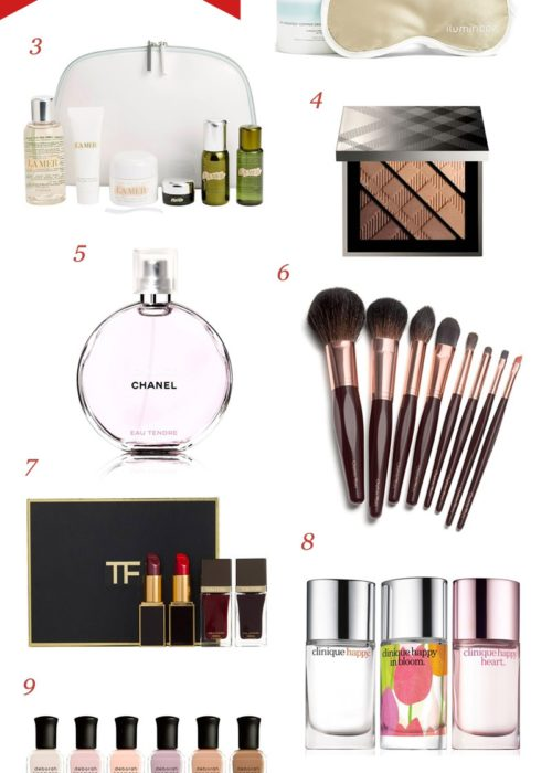 Holiday Gift Guide   Gifts for the Beauty Obsessed