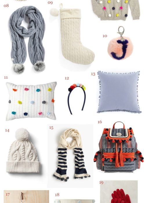 Holiday Gift Guide – Pom poms