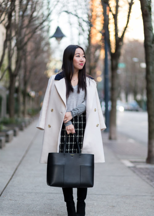Corporate Monday :: Tweed Skirt