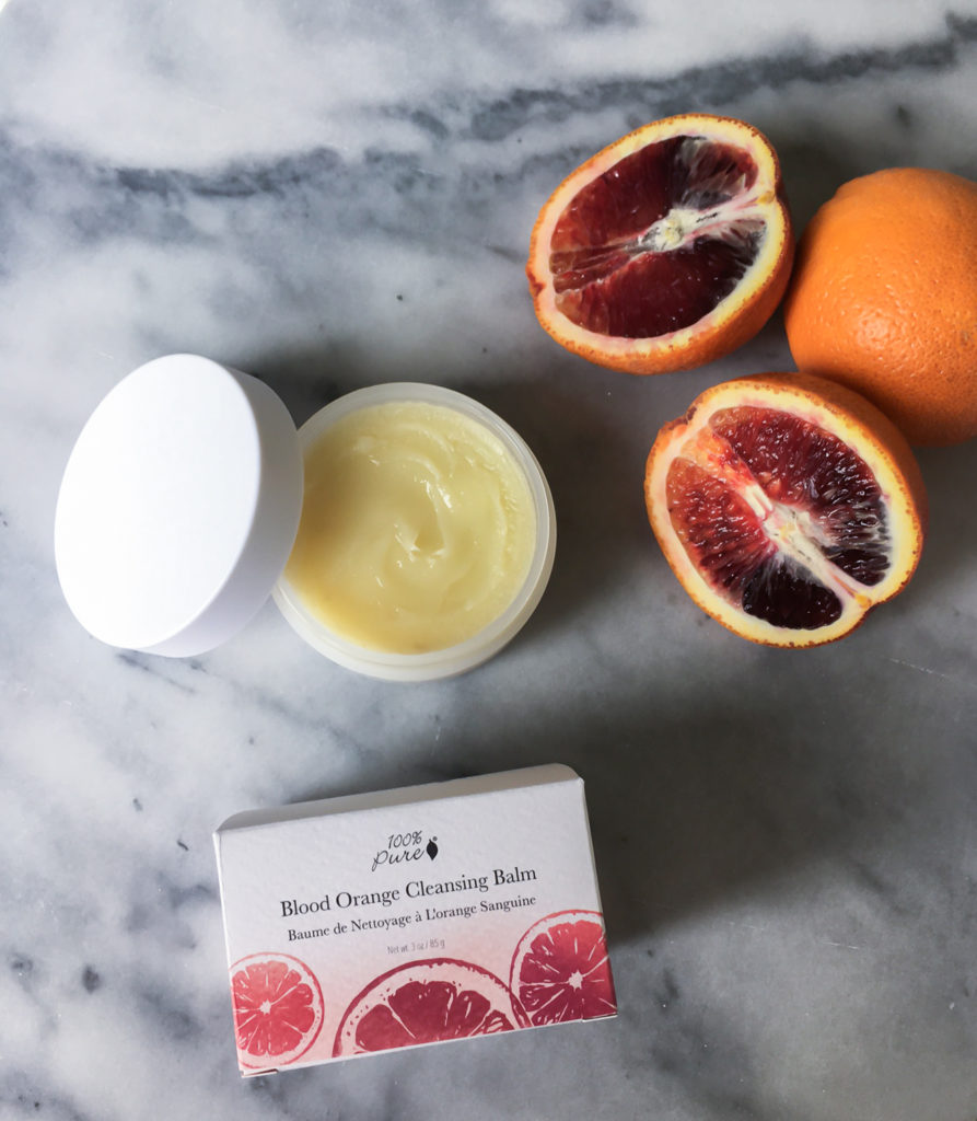 100% Pure Blood Orange Cleansing Balm {Launching Feb 21}