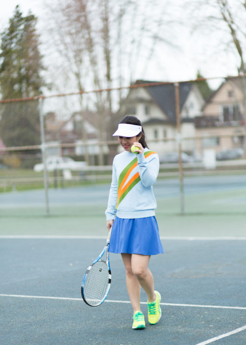 Tennis Court Style