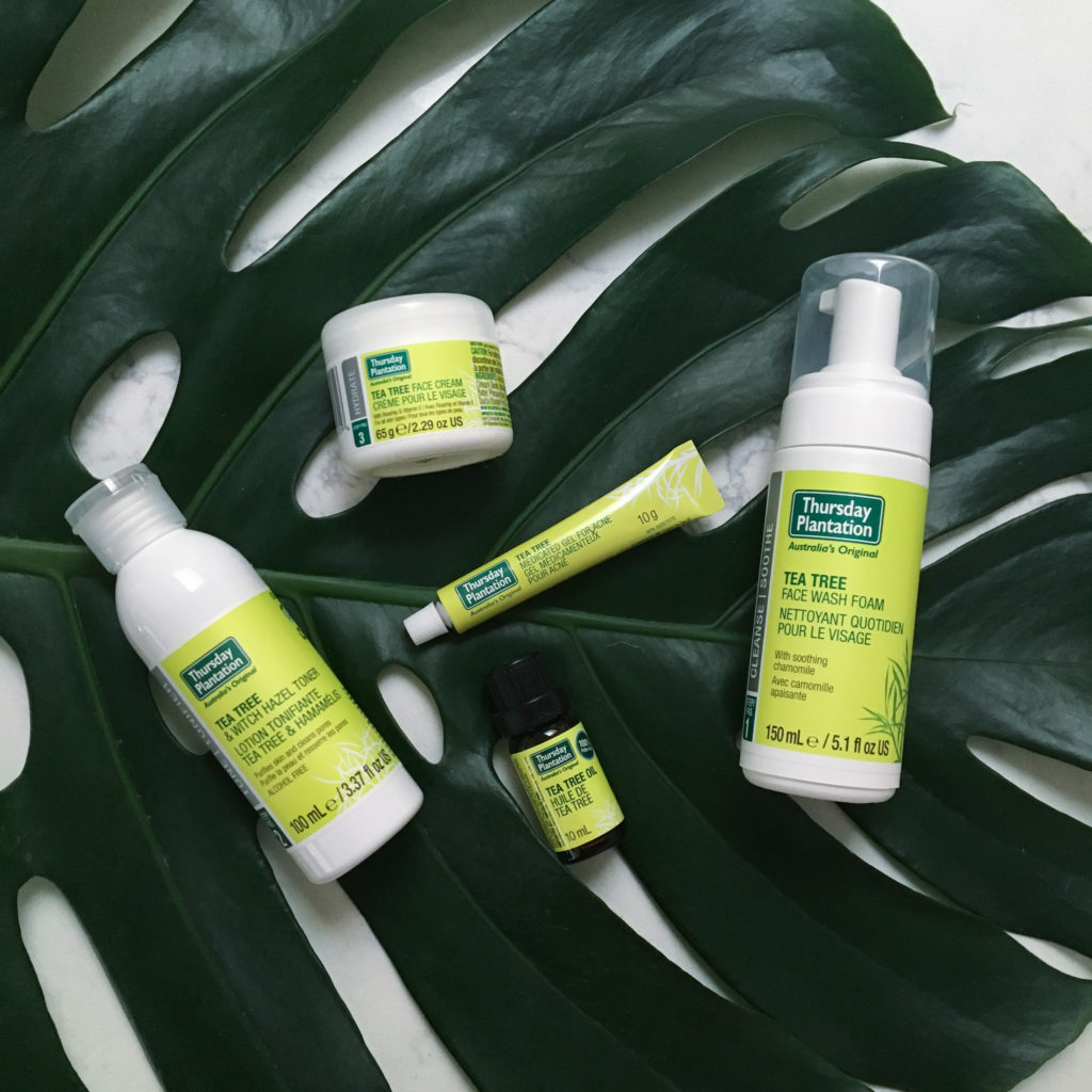 Clear Skin With Thursday Plantation Tea Tree Oil