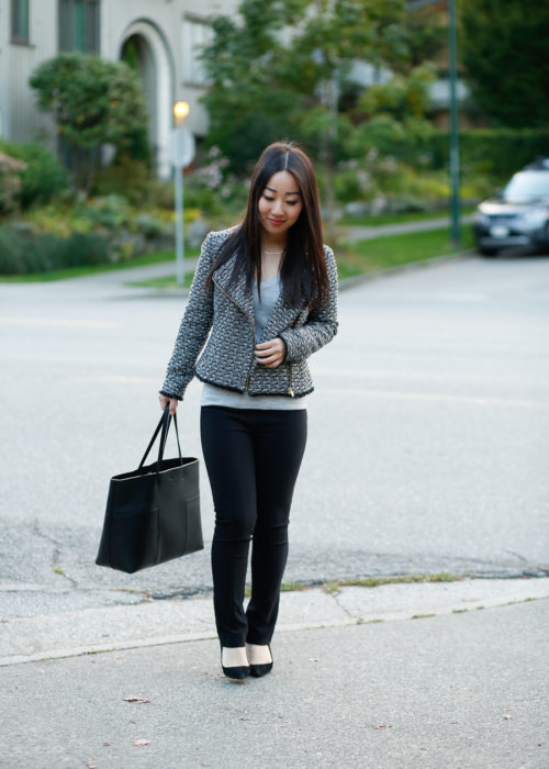 Office Style :: MM.LaFleur Foster Pant & Tweed Jacket