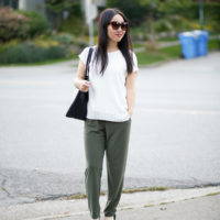 workwear outfit mmlafleur didion top