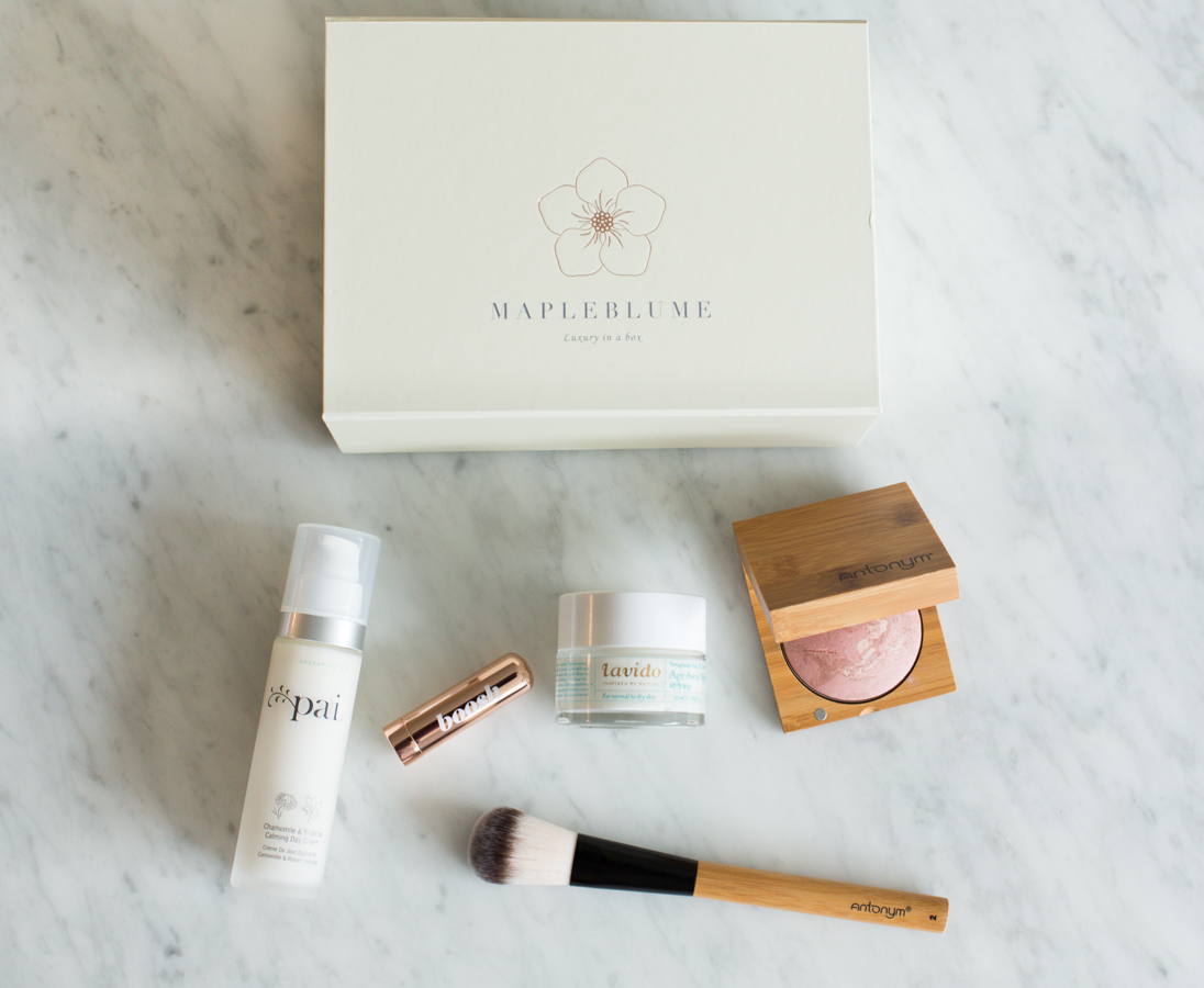Mapleblume Feb 2018 beauty box